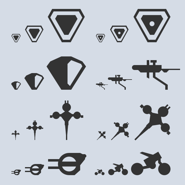 lots of icons
